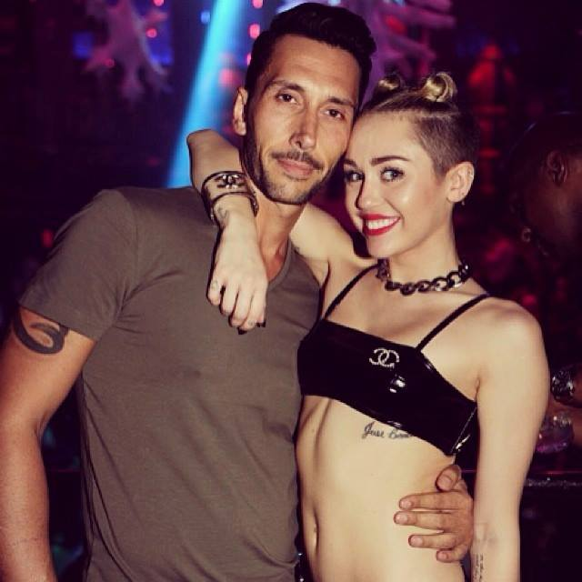 Cedric Gervais & Miley Cyrus at Liv Miami