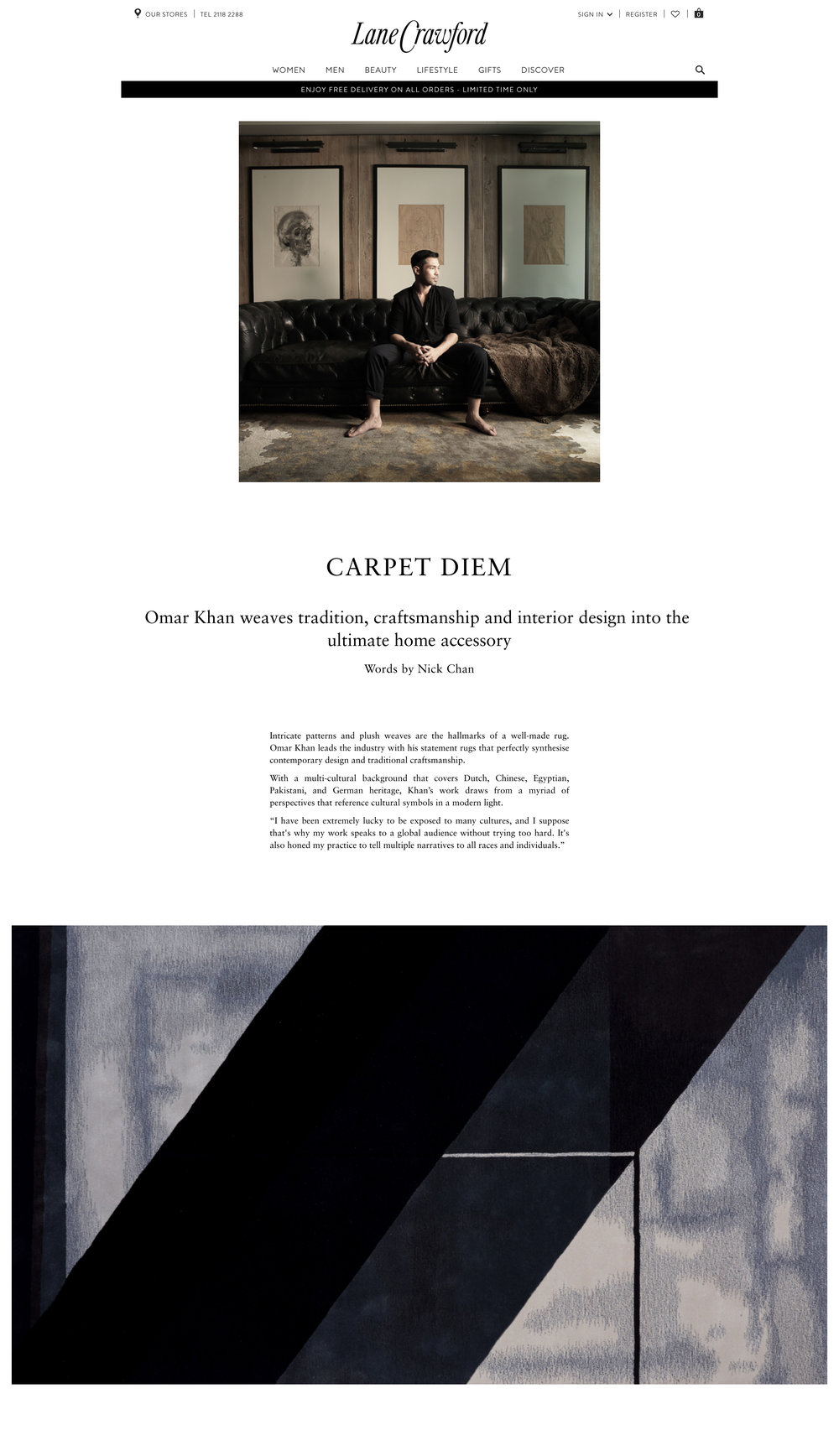 Carpet Diem | Omar Khan Rugs