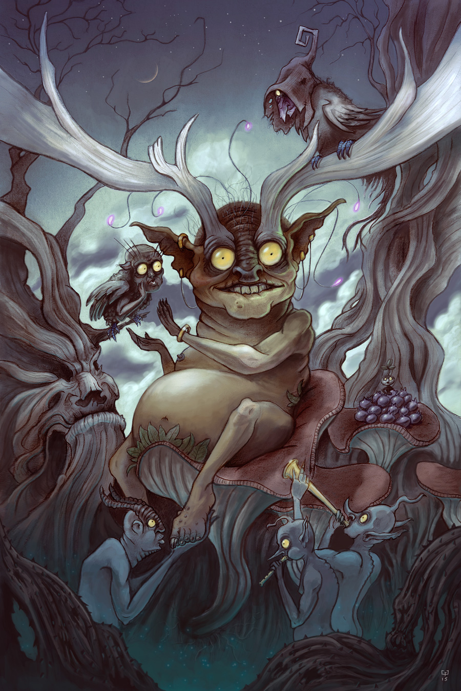 The Faerie King - By Gavin Gray Valentine