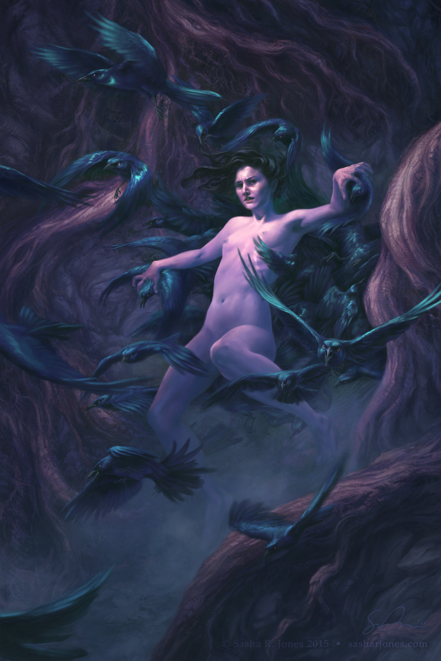 """Holding Back Birds"" by Sascha Jones"