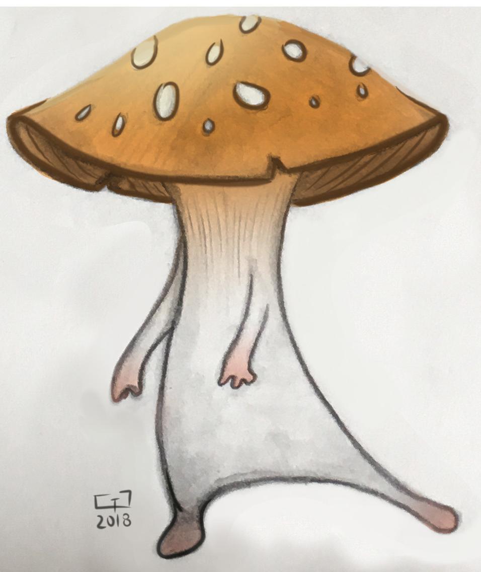 Mushroom Spirit by Gavin Gray Valentine