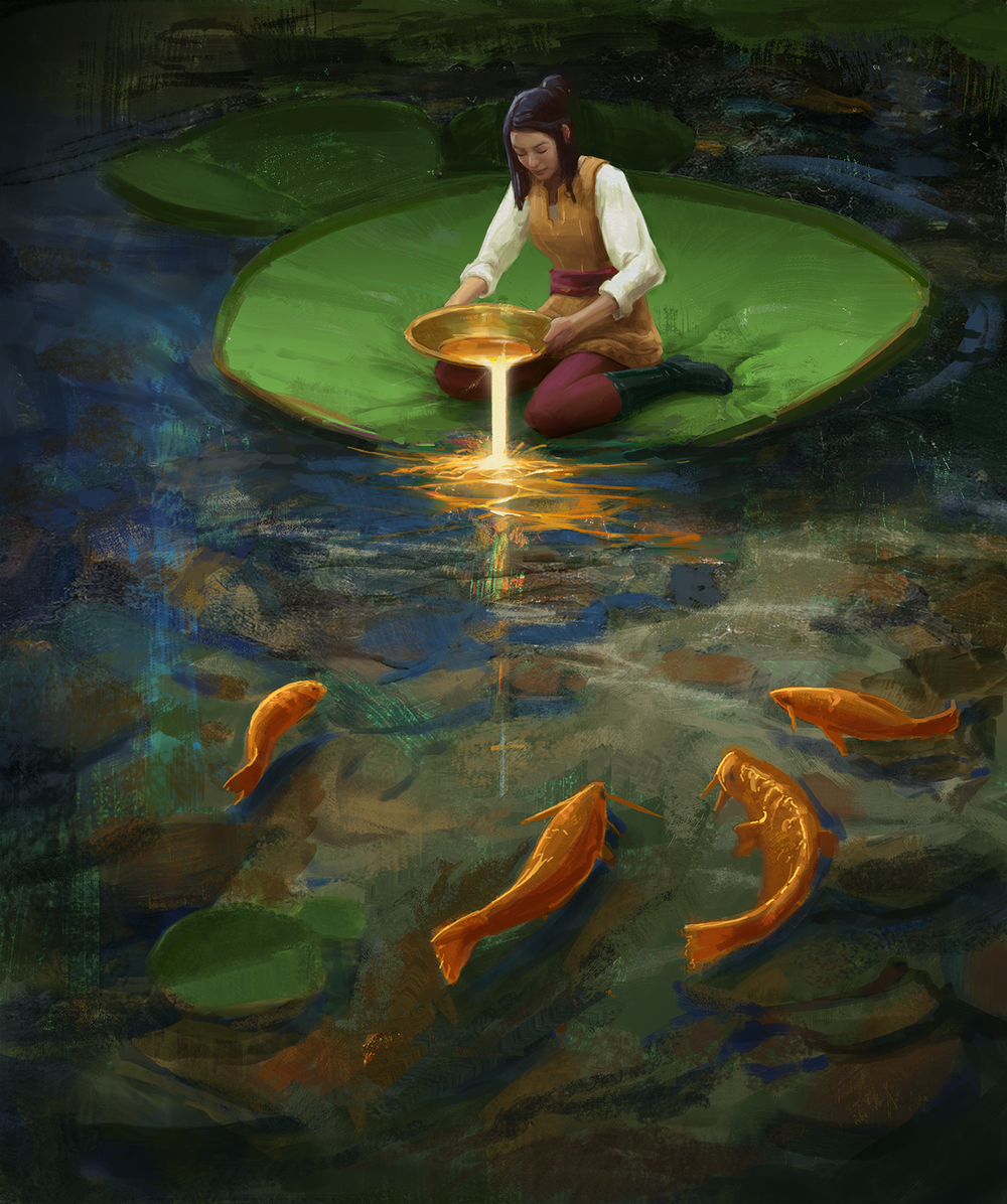 Lilly Pad by Justin Donaldson
