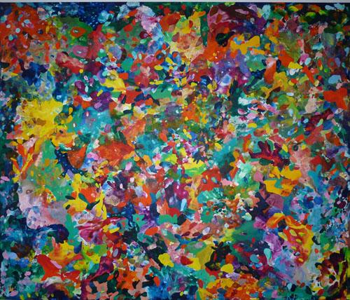 July 2013. Oil on Linen. 195H x  230cm