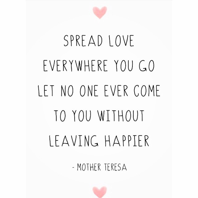 Spread the love this week!! #complete #yourjourneymatters