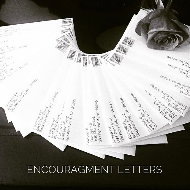Encouragement is good for the heart ❤️We would love to send you a letter each month!! Send us a message with your address and your letters will start next month. Can't wait to encourage you all ☺️💜👑
