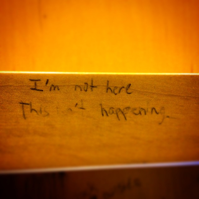 Sitting in the motivational cubicle #finals