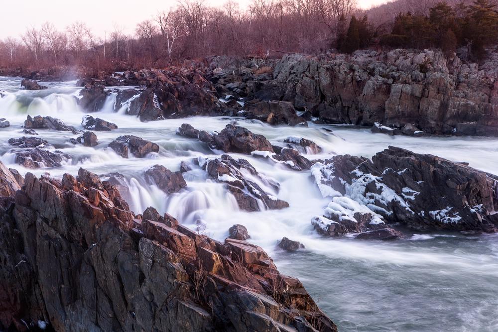 Great Falls at Sunrise.