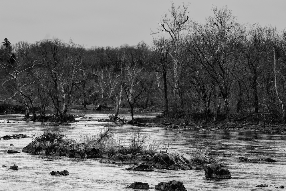 Gray day on the Potomac
