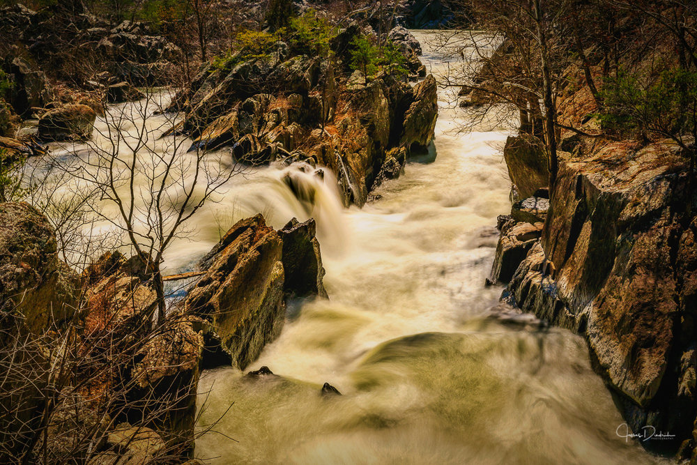 Great Falls in Maryland