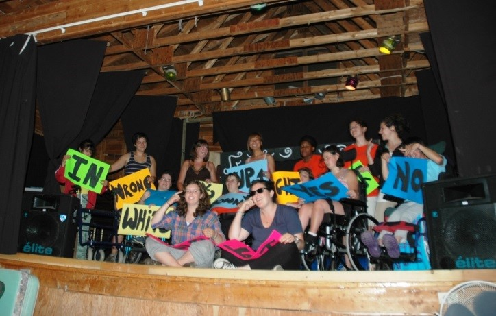 Everyone gets the opportunity to participate in our shows – regardless of their impairment.