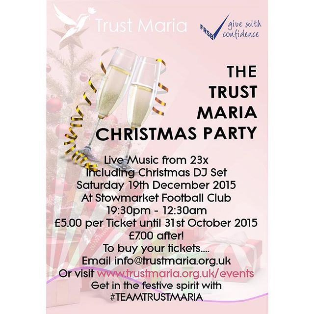 Christmas Party tickets now on sale! 😀🍷🎄🎉