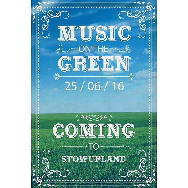 Music on the Green is back as Company '87 take over from Stowupland Parish Council in aid of Trust Maria!  We hope to see you all there 😀