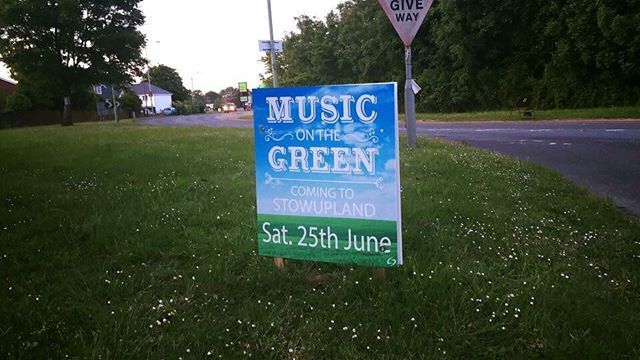 MUSIC ON THE GREEN - this Saturday 25th June in aid on Trust Maria.  FREE ENTRY - lots of stalls, food, entertainment for the kids & live music all day. Gates open from midday.