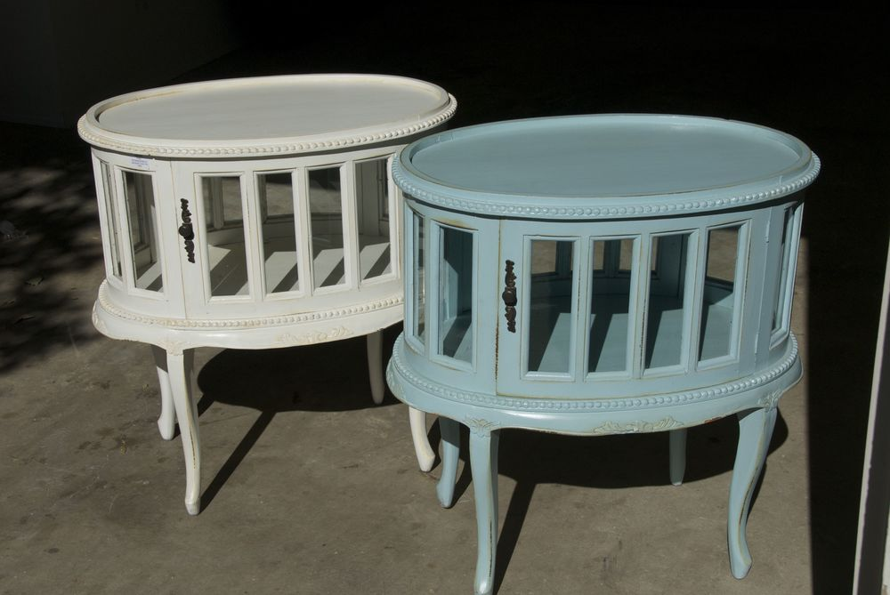 My new tea tables from Nadeau!