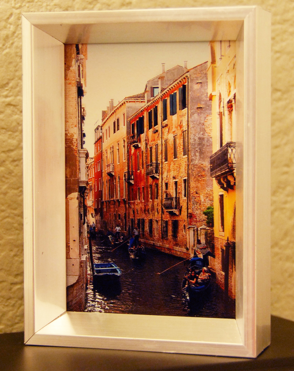 Frame from Target and pic from my trip to Italy.