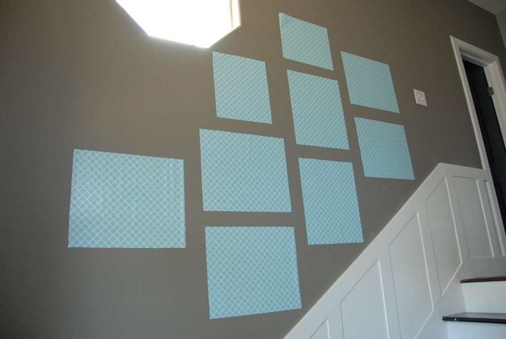 Photo Wall Template