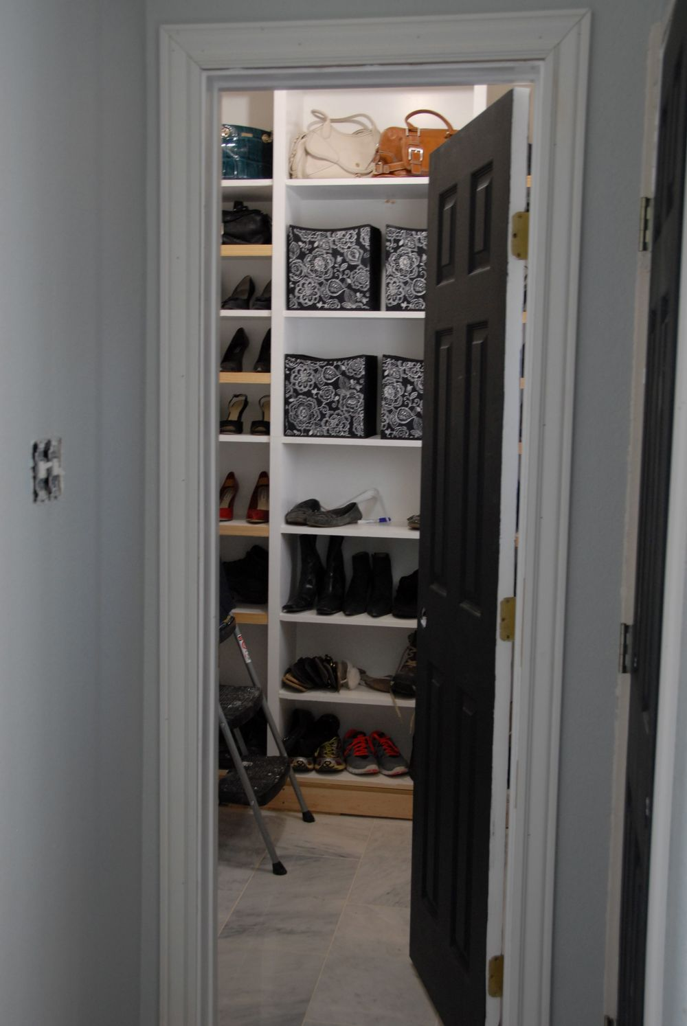 A Peek Inside My Newest Project - Custom Closet