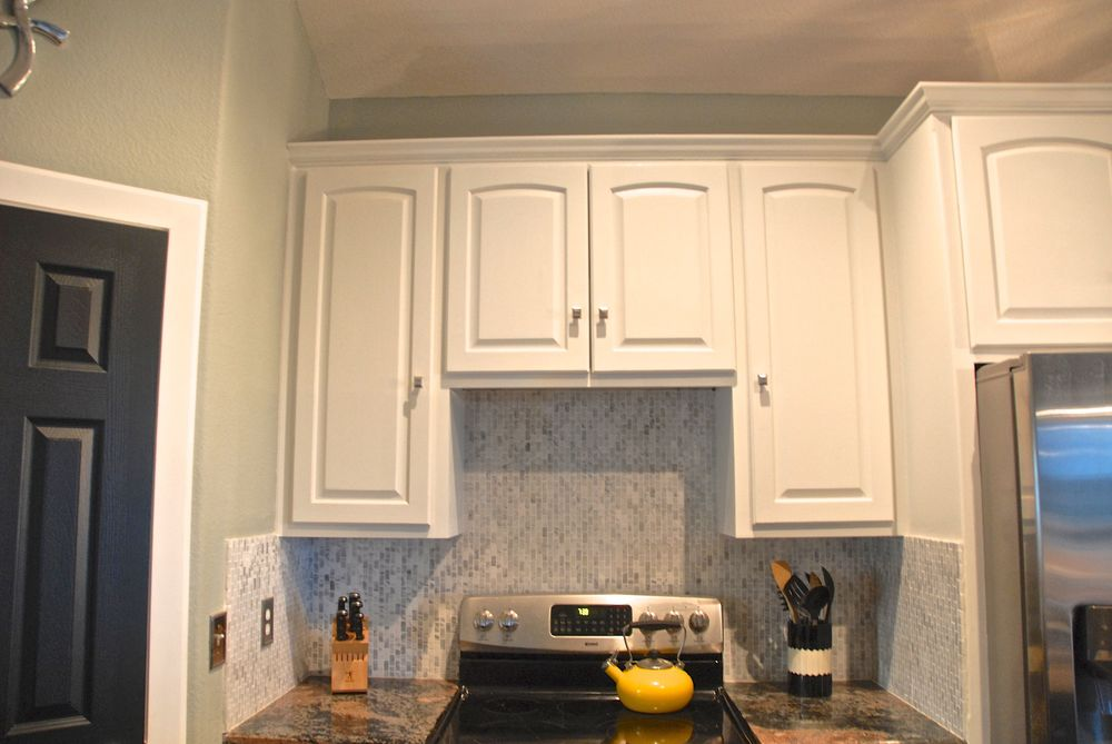 The Cabinets Sans Microwave