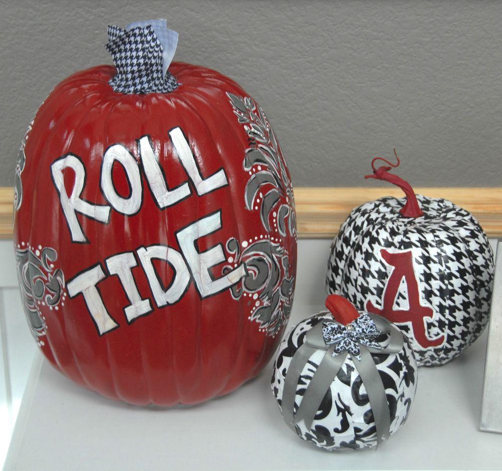 Roll Tide Pumpkin