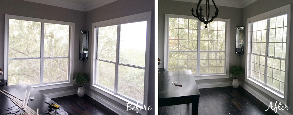 Updated: Making Your Own Window Grids (Grilles, Mullions) The Rozy Home