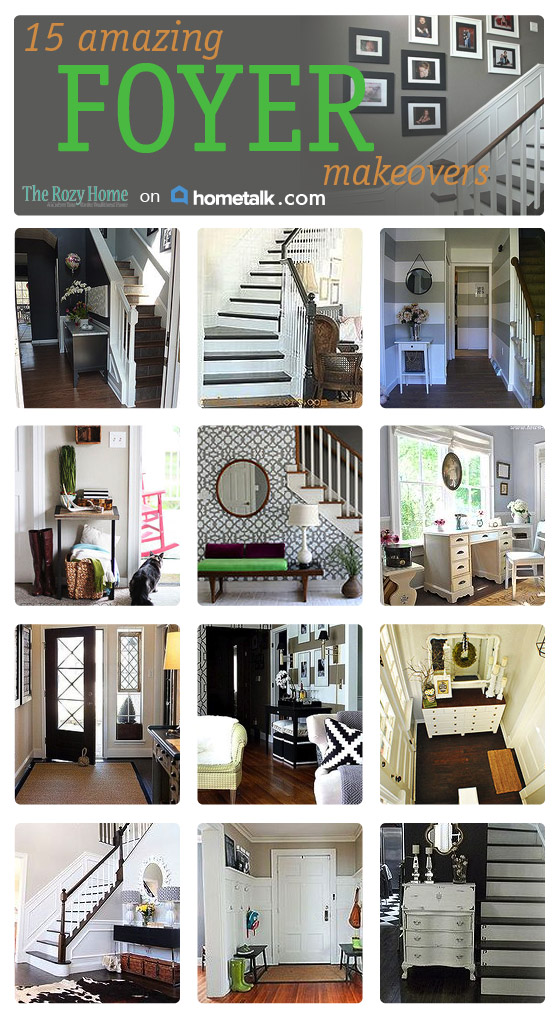 HELLO BEAUTIFUL! 15 AMAZING FOYERS (HOMETALK FEATURE)