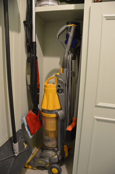 under cabinet vacuum airing my laundry room the rozy home 27545
