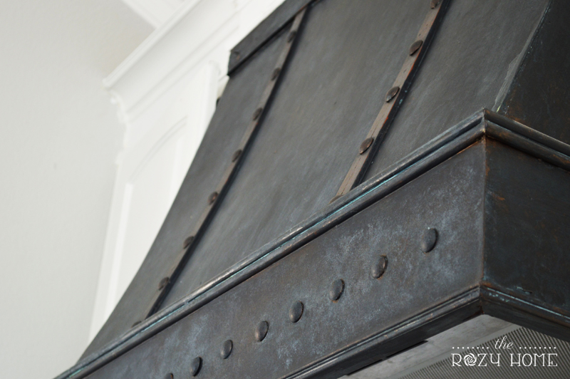 DIY BRONZE RANGE HOOD - FINAL