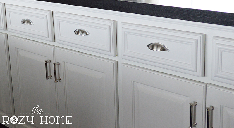 Easy And Inexpensive Cabinet Updates Adding Trim To