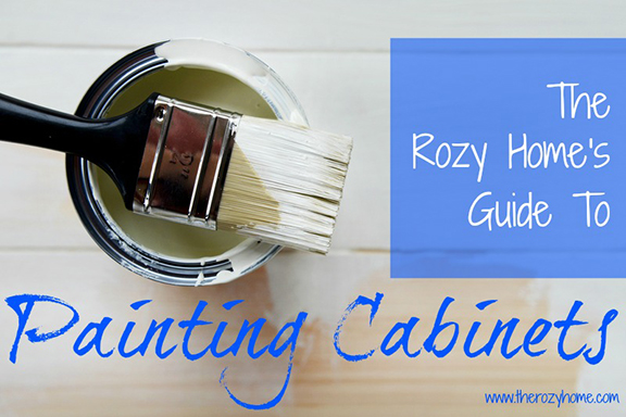 How To paint cabinets - Main