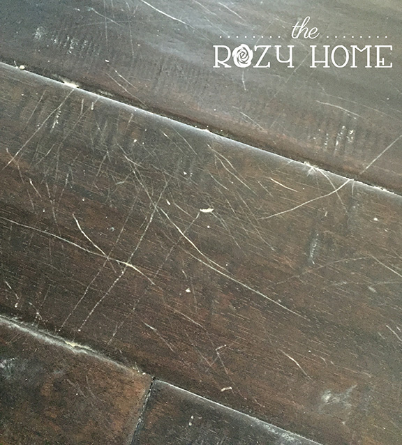 Cat Scratch Fever (How to Fix Scratches in Wood Floors) - Cat Scratch Fever (How To Fix Scratches In Wood Floors) The Rozy Home