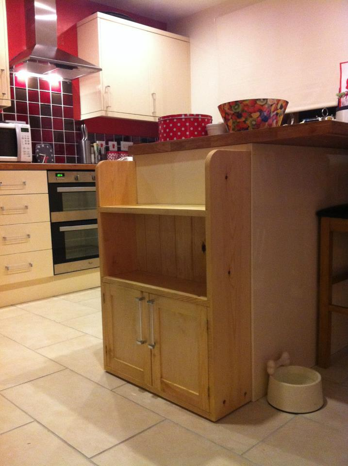 Bespoke cabinet made on York Art & Crafts Woodwork & Furniture Making Course