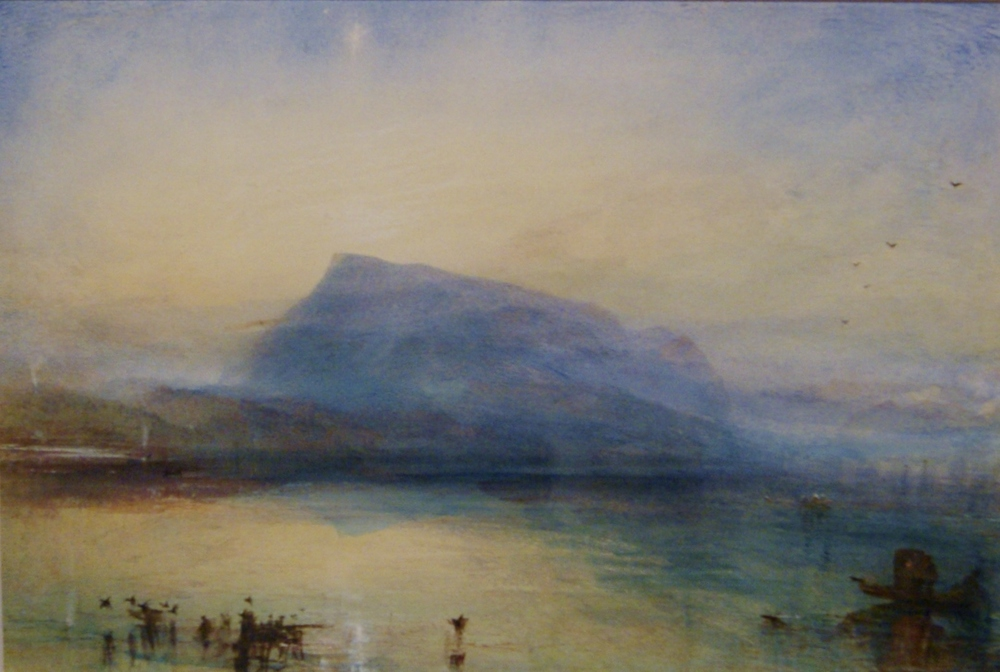 JMW TURNER - 'THE DARK RIGI'