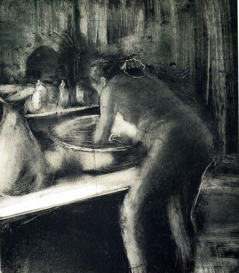 'The Tub' (1885)- Degas