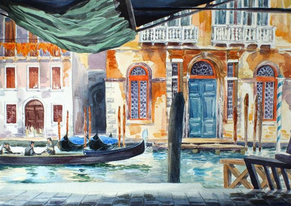 Venice Watercolour - Julia Borodina