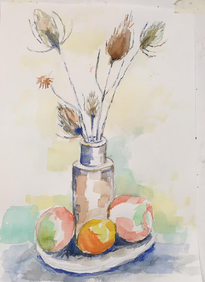 Watercolour by John