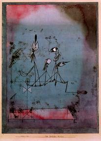 'Twittering Machine' - Paul Klee (1922)