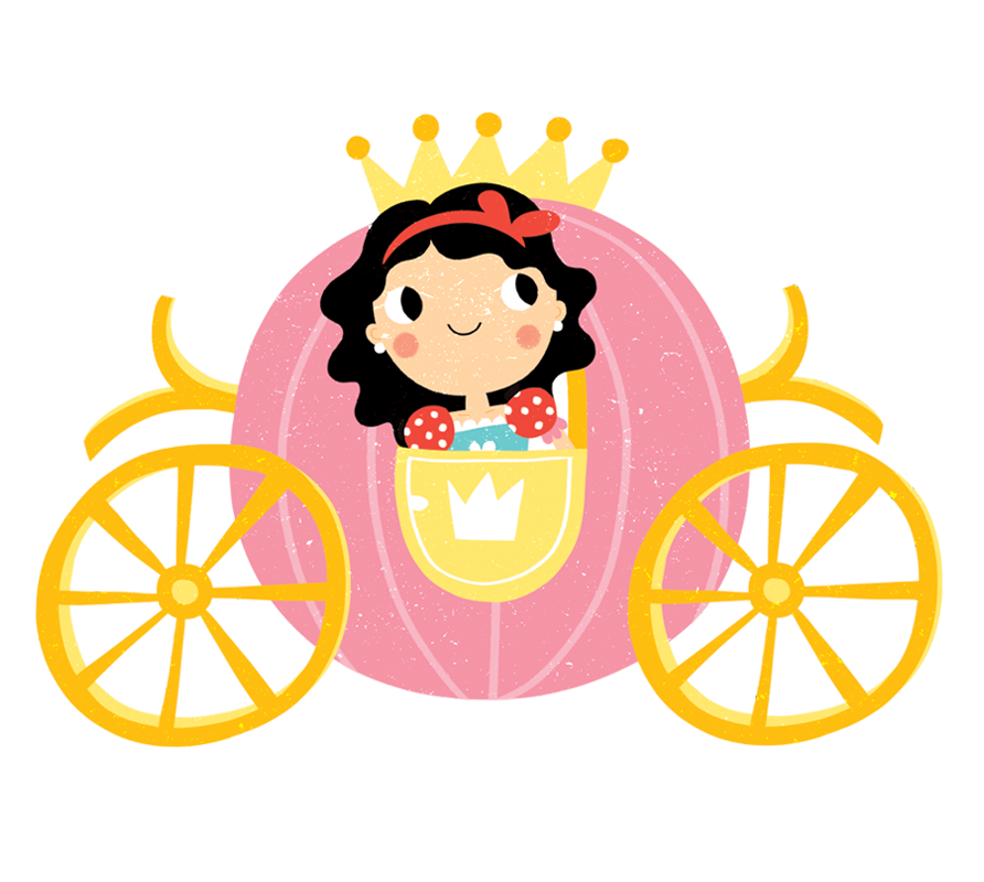 Princess Carriage from the Princess Activity Book