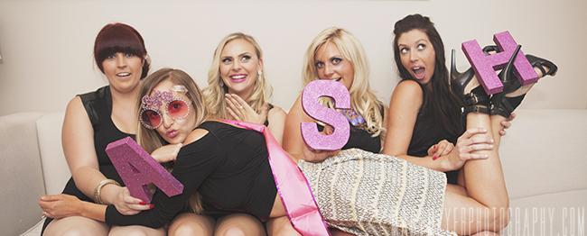Vegas bachelorette photography