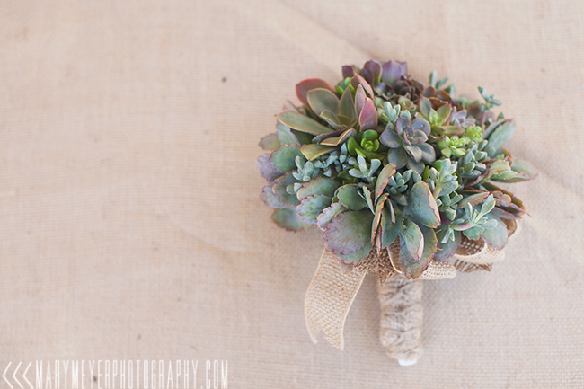 succulent bouquet las vegas wedding photography