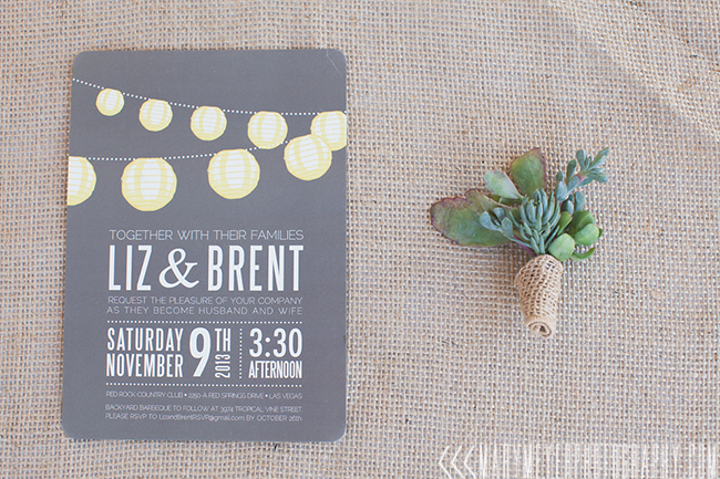 minted wedding invite
