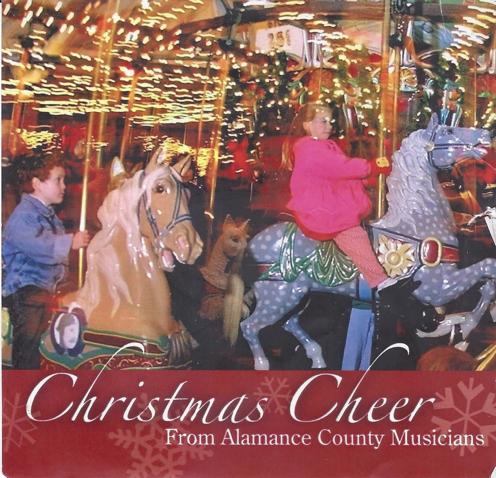 ALAMANCE ARTS COUNCIL fundraiser contribution Single:  God Rest Ye Merry Gentlemen