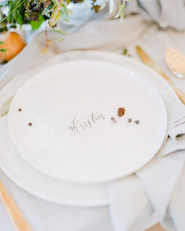 Fine calligraphy, a vellum place card and mini acorn - all too cute, if you ask us. Fall is our favoriteeeee 🙌🏻 • Photography: @thejacksonsphotography | Calligraphy: @inkwellandco • • • • #calligraphy #inkwellandco #thejacksonsphotography #film #asseenincolumbus #columbus #columbusbride #columbuswedding #columbusweddingplanner #eventshelddear #ohiobride #ohiowedding #ohioweddingplanner #flashesofdelight #pursuepretty #stylemepretty #ohtheheart #cincinnatiweddingplanner #clevelandweddingplanner #kentuckybride