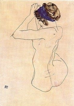 Art by Egon Schiele