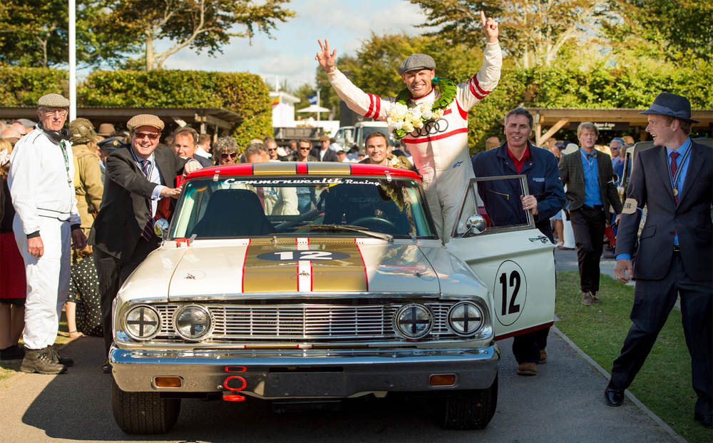 from last on the grid to winner at the goodwood revival 2015 - © fiona hanson PHOTOGRAPHY