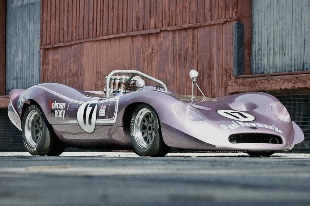 Alan Mann Racing built the striking Honker II Can-Am car which was sent over to Holman Moody in America to be driven by the legendary Mario Andretti.