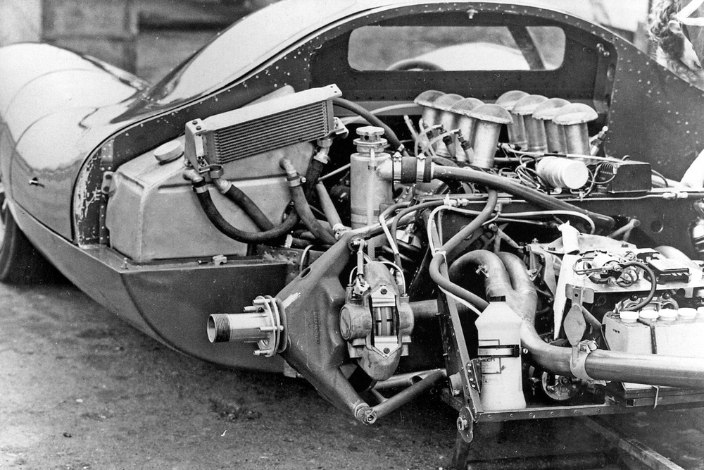 A prototype sports car, the F3L-P68, was designed in house by Alan Mann Racing and Len Bailey to make use of the new Cosworth DFV engine.