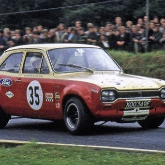 Our title winning Escort will be on show at Brands Hatchnext Sunday (23rd Sept) to celebrate its 50th birthday! Hope to see you there... #alanmann #ford #classiccars #btcc