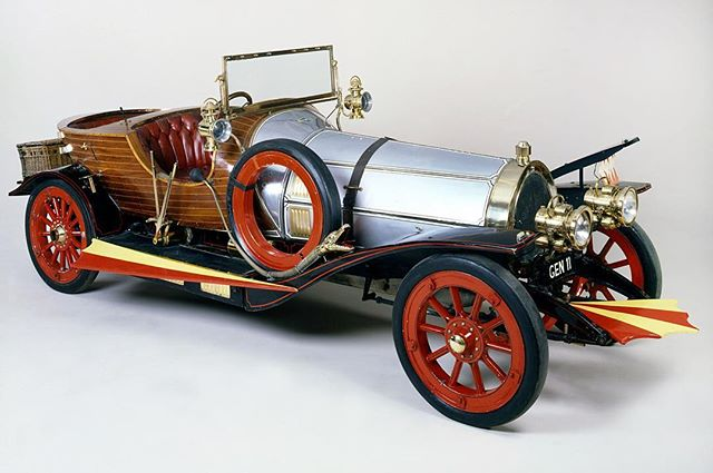 Chitty Chitty Bang Bang, built by Alan Mann Racing, was released 50 years ago today! #chittychittybangbang #alanmann #amr1964 #classiccars #moviecars