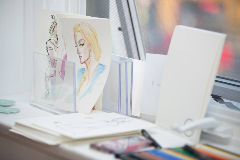Live Fashion Illustration