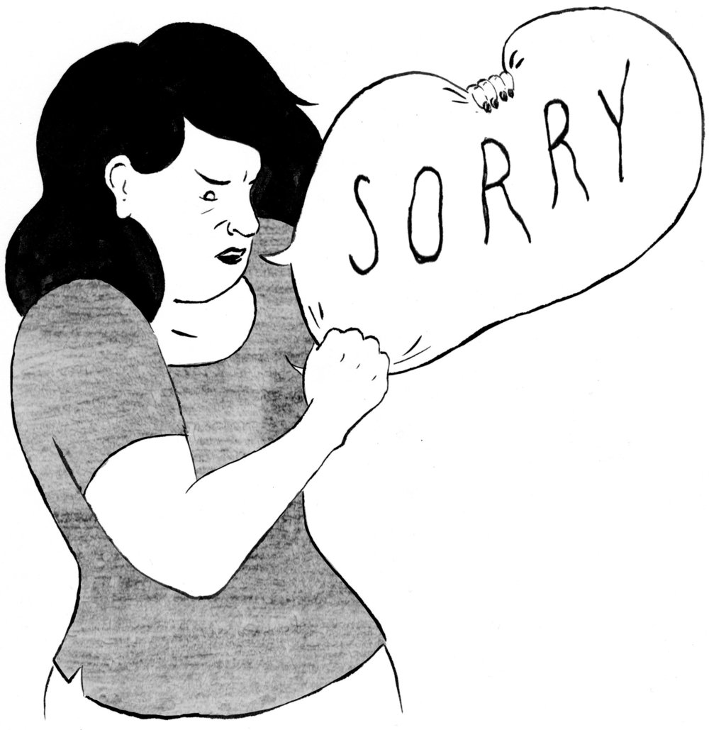 Why Women Apologize and Should Stop June 23, 2015—New York Times